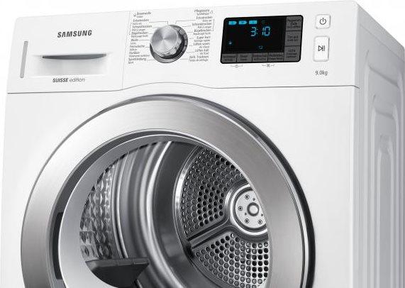 asciugatrice samsung 9 kg pompa di calore classe a