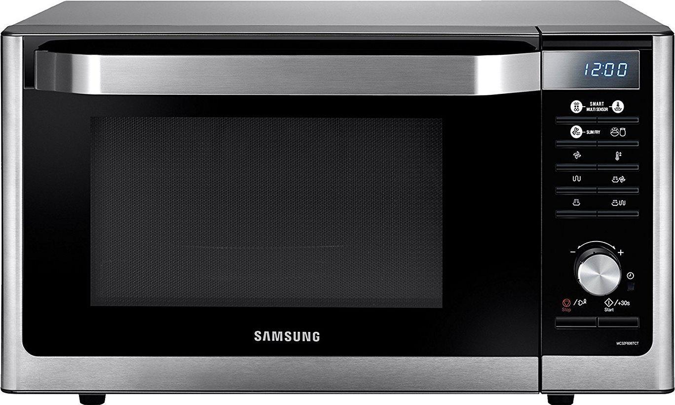 Samsung forno microonde combinato con grill capacit 32 litri potenza 900 watt colore argento - Forno microonde combinato ...