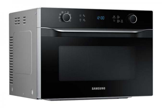 Samsung forno microonde combinato grill 35lt 900w cottura for Cottura microonde
