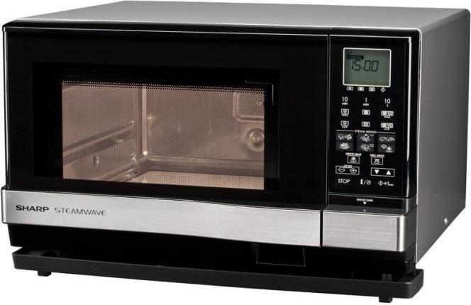 Sharp forno a microonde combinato con grill capacit 27 litri potenza 1000 watt colore nero - Forno microonde combinato ...
