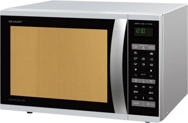 Sharp forno a microonde combinato con grill ventilato e cottura a vapore capacit 40 litri - Forno con cottura a vapore ...