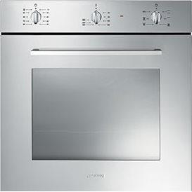 Forno smeg sf465x estetica selezione forno da incasso elettrico ventilato con grill - Forno elettrico smeg da incasso ...