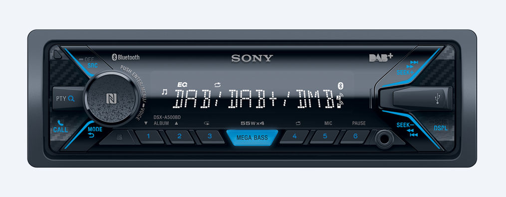 autoradio bluetooth sony stereo auto dsx a500bd prezzoforte 96064. Black Bedroom Furniture Sets. Home Design Ideas
