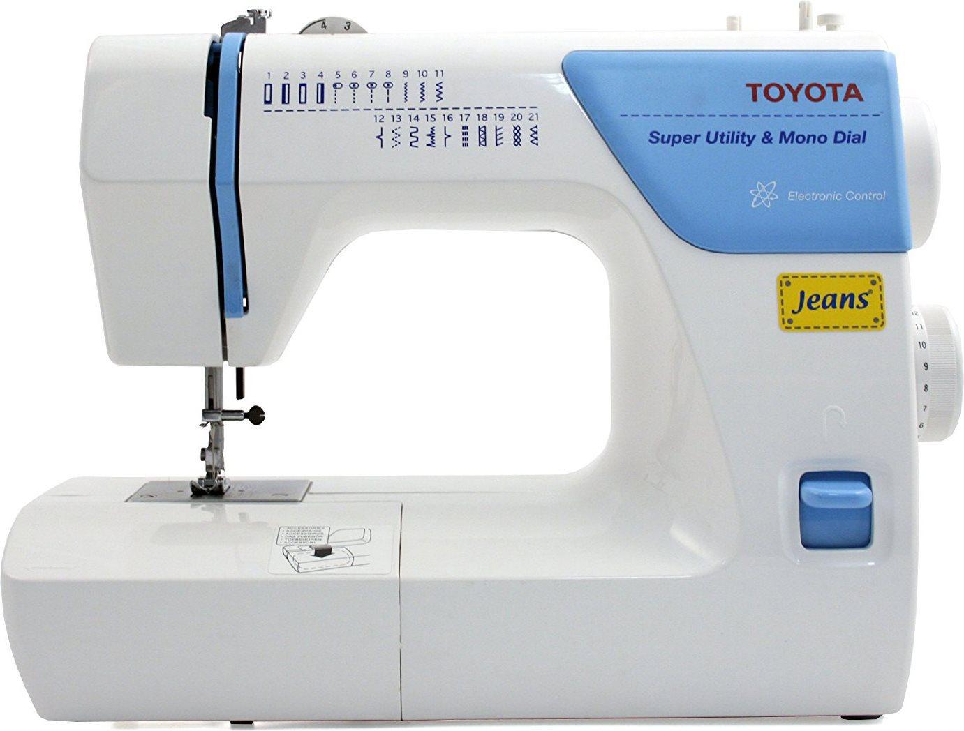 Toyota macchina per cucire meccanica con tavolo da lavoro for Macchina da cucire meccanica