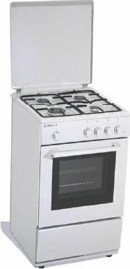 Tecnogas Cucina A Gas 4 Fuochi Forno A Gas Larghezza X