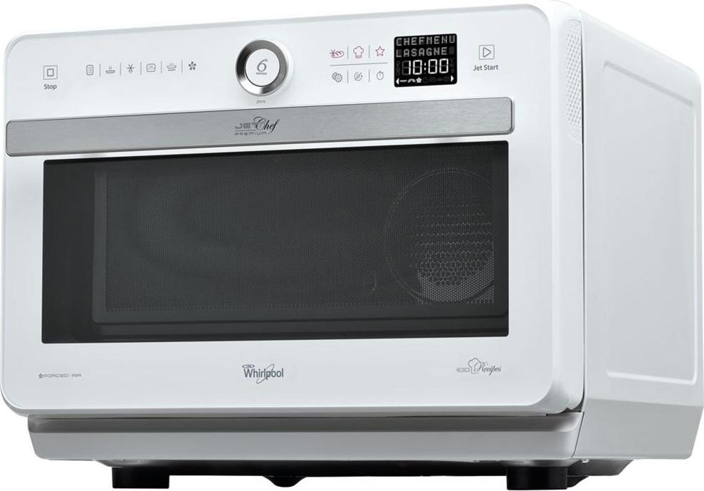 Whirlpool forno a microonde combinato con grill e cottura a vapore capacit 33 litri potenza - Forno con cottura a vapore ...