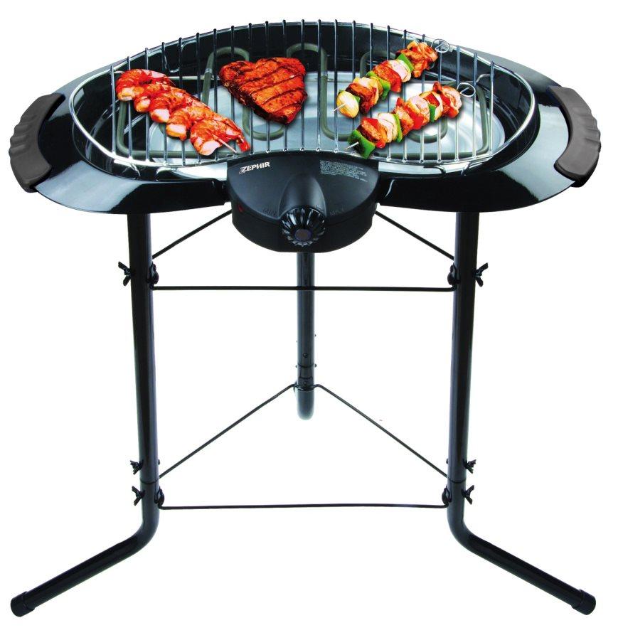Zephir barbecue elettrico da esterno bbq da giardino - Barbecue esterno ...