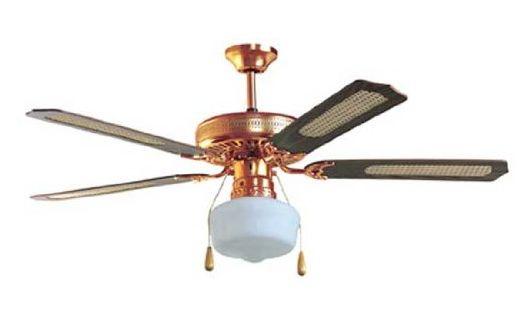 Zephir ventilatore da soffitto con luce 4 pale lampadario for Lampadario a pale brico