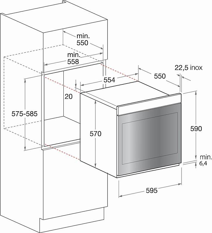 Forno ariston ok 1037el x ha s forno da incasso - Forno ventilato da incasso ...