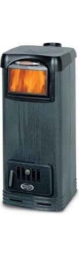 Argo stufa a legna ghisa bruciatutto termica 8 kw super for Stufa a legna argo