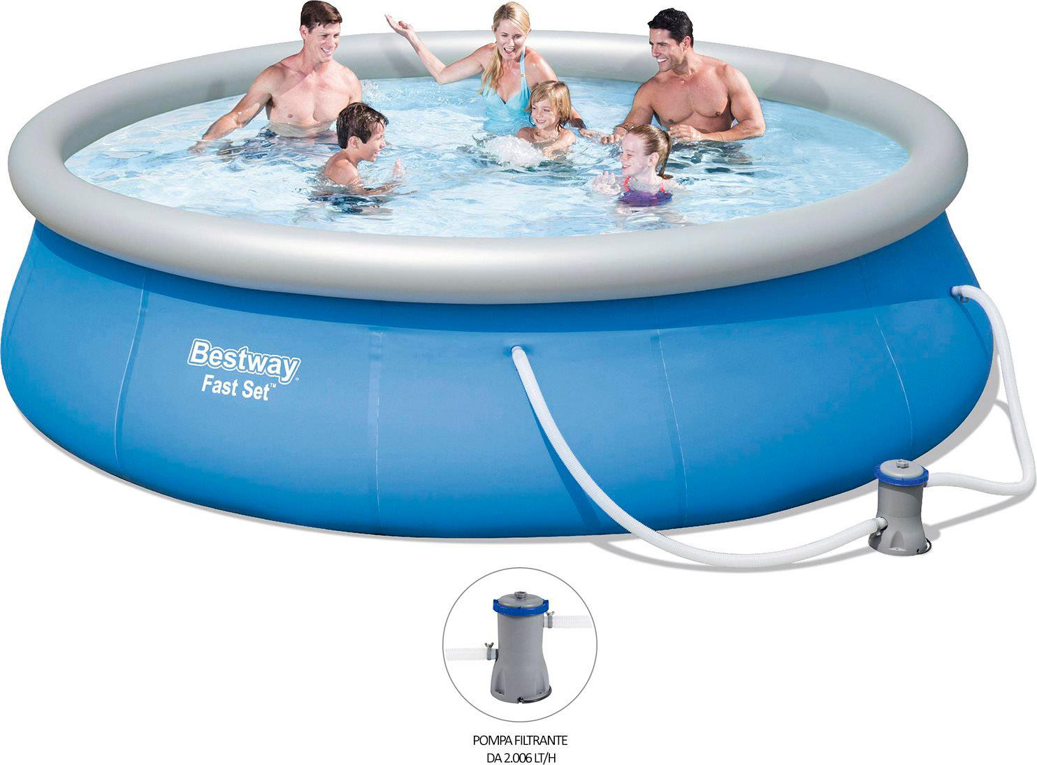 Bestway piscina fuoriterra fuori terra autoportante - Piscine fuori terra autoportanti ...