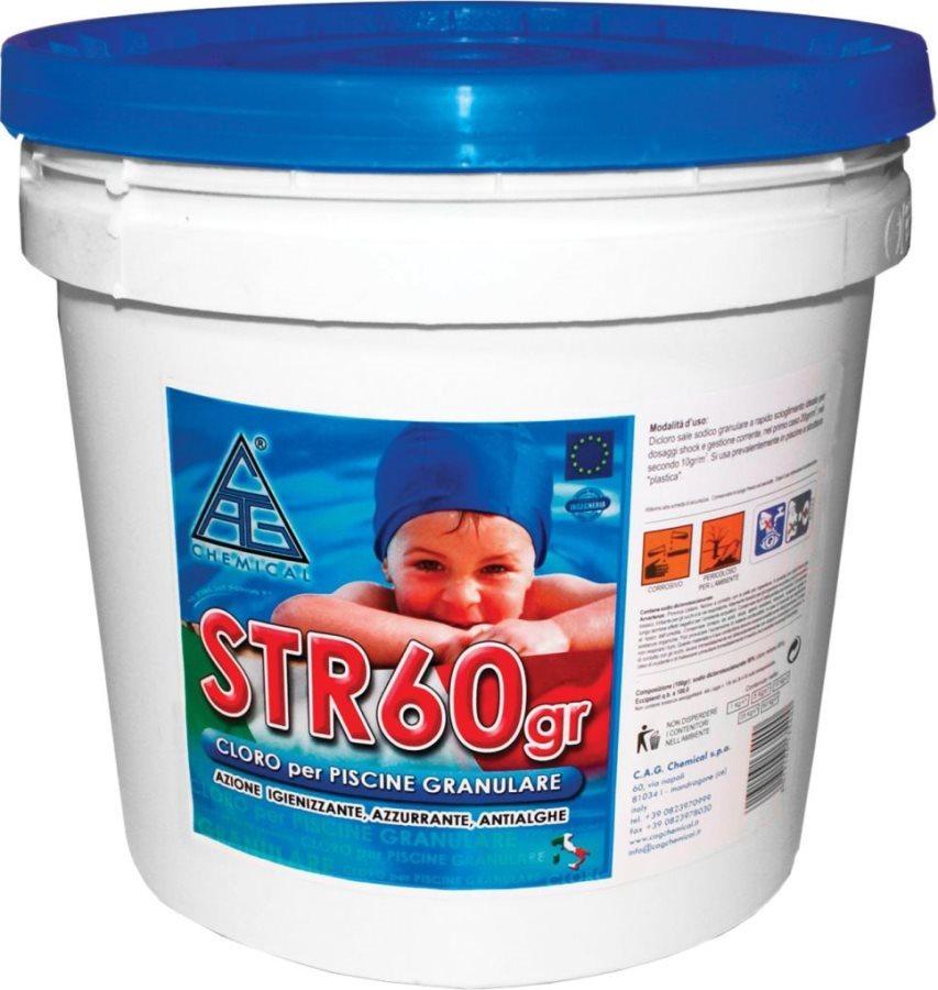 Chemical cloro per piscine granulare azzurrante antialghe for Cloro liquido per piscine