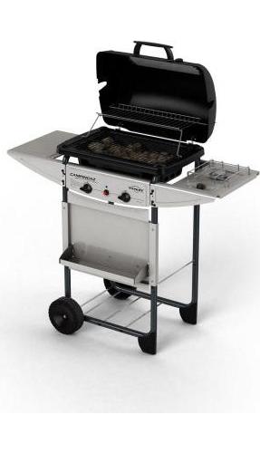 Campingaz barbecue gas da giardino pietra lavica fornello - Barbecue da giardino in pietra ...