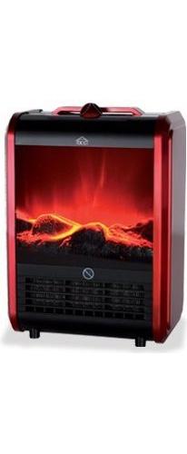 Camino elettrico caminetto fuoco finto portatile 1500 w fp - Camino portatile ...
