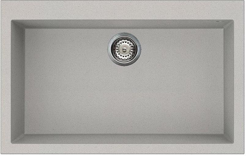 Elleci lavello cucina incasso 1 vasca 79 cm aluminium quadra 130 lmq13079 ebay - Lavandino incasso cucina ...