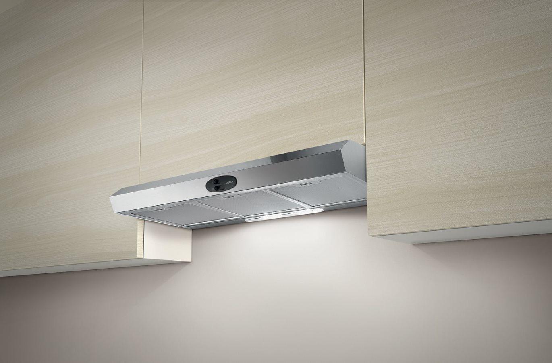 Elica cappa cucina filtrante incasso sottopensile 90 cm - Cappa cucina acciaio ...
