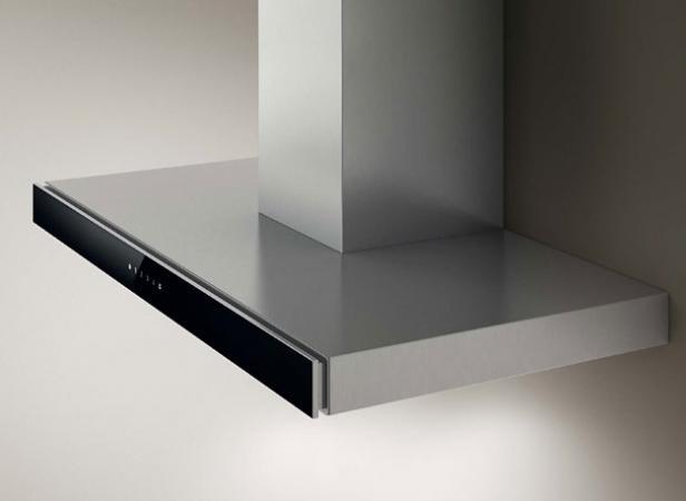 Elica cappa cucina aspirante parete 90 cm x 47 cm acciaio - Cappa cucina 90 cm ...