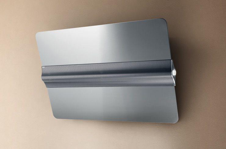 Elica cappa cucina filtrante parete 80 cm acciaio capitol - Cappa filtrante cucina ...