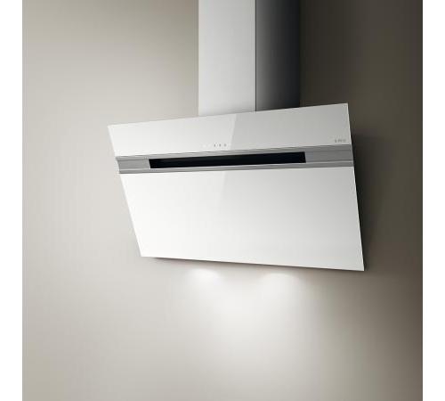 Elica cappa cucina aspirante parete 60 cm x 25 cm stripe wh a 60 wh prf0098130 ebay - Cappa cucina 60 cm ...