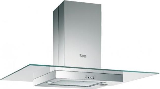 Hotpoint Ariston Cappa Cucina Filtrante Isola 90 Cm X 45 Cm Acciaio Ihgf9abx Ha Ebay
