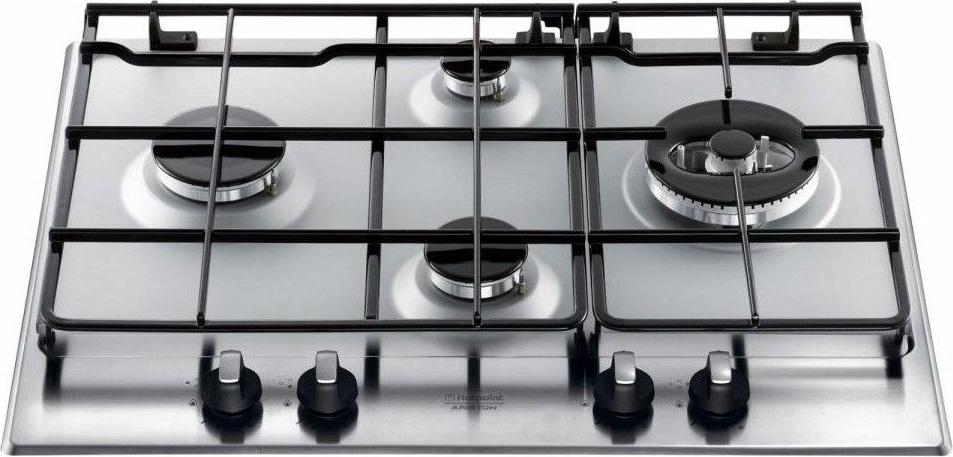 hotpoint ariston piano cottura 4 fuochi incasso a gas 65 cm inox ... - Cucina Ariston 4 Fuochi