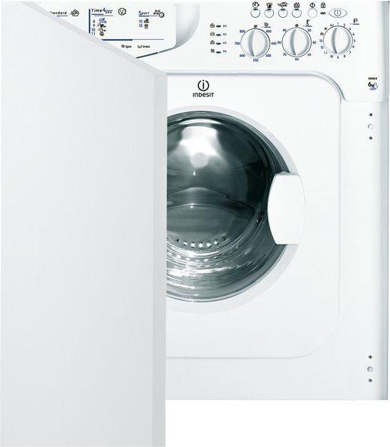 Indesit lavatrice incasso 6 kg classe a l 55 cm 800 giri - Lavatrice 33 cm 6 kg ...