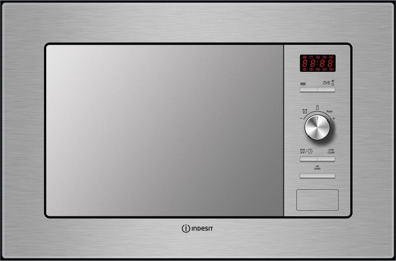 Indesit forno microonde incasso combinato grill 20 l 800w for Forno microonde combinato incasso