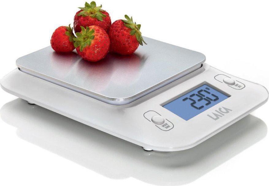 Bilancia Cucina Digitale Elettronica Laica Max 3 Kg col Bianco KS3010W