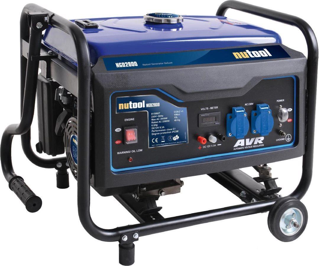 Nutool gruppo elettrogeno generatore corrente benzina 3 kw for Gruppo elettrogeno 3 kw avviamento automatico