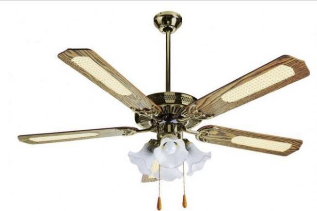 lampadario con ventilatore : Lampadario Soffitto Legno : Ventilatore soffitto luce lampadario legno ...