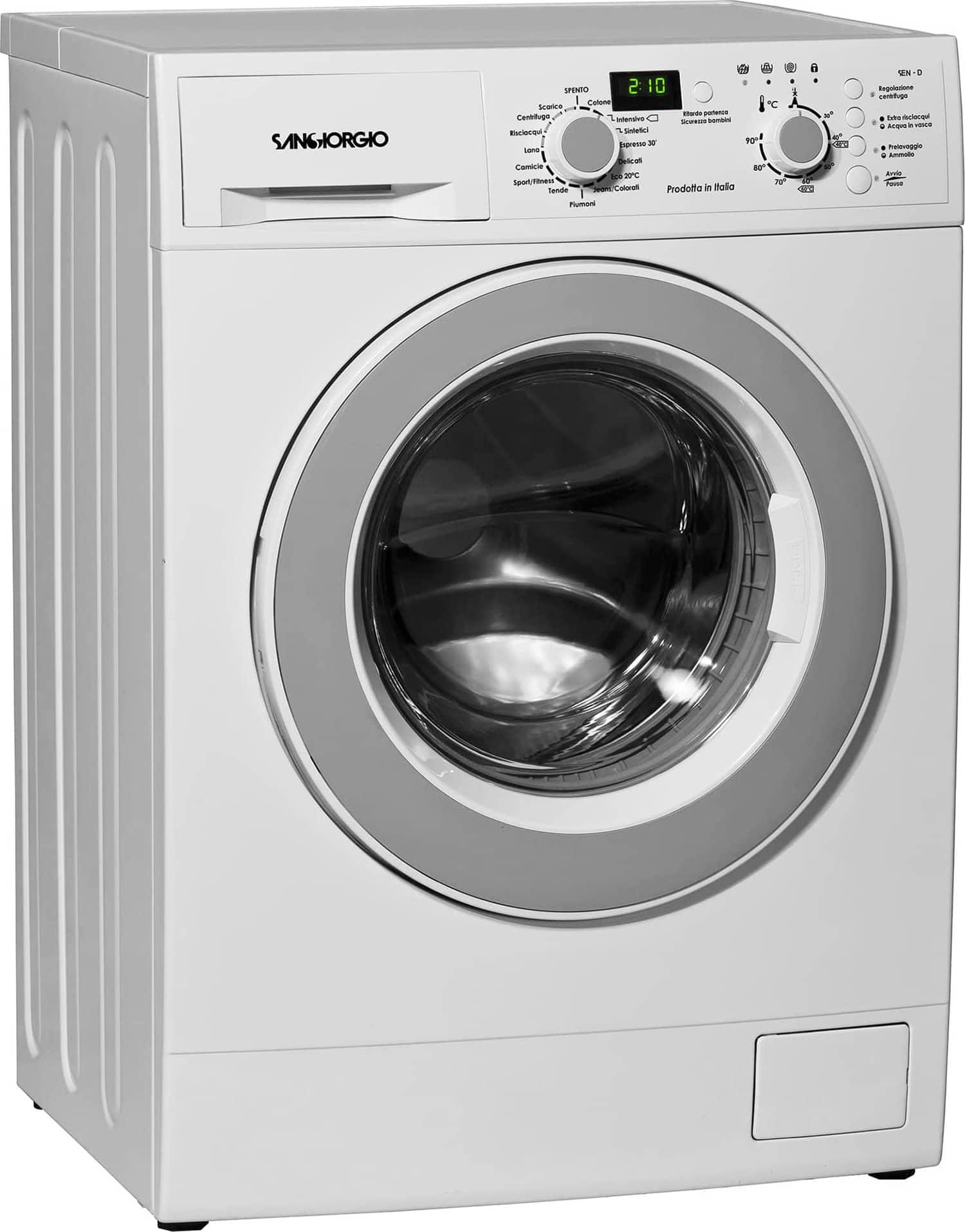 San giorgio lavatrice carica frontale 7 kg classe a 51 - Lavatrice per piumoni ...