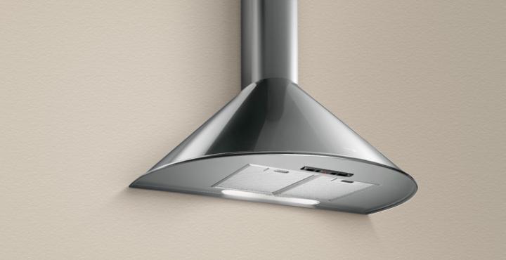 Turboair cappa cucina aspirante parete 90 cm x 49 cm - Cappa cucina acciaio ...
