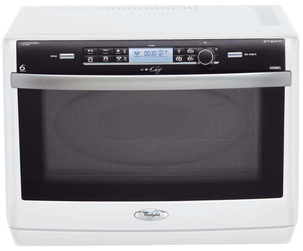 Whirlpool forno microonde combinato grill crisp ventilato jt 369 wh 6 senso ebay - Forno ventilato whirlpool ...