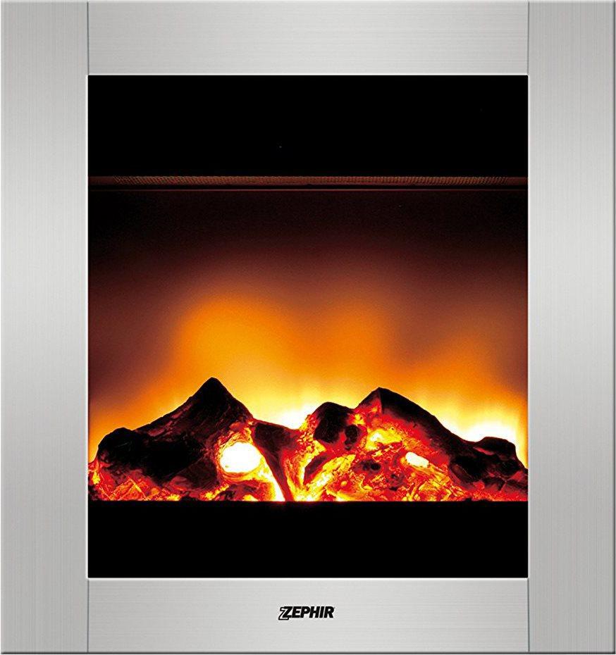 Zephir camino caminetto elettrico parete fuoco finto for Finto camino elettrico