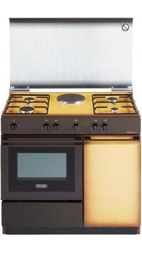 De longhi cucina a gas 4 fuochi forno elettrico 80x50cm - Delonghi cucina a gas ...
