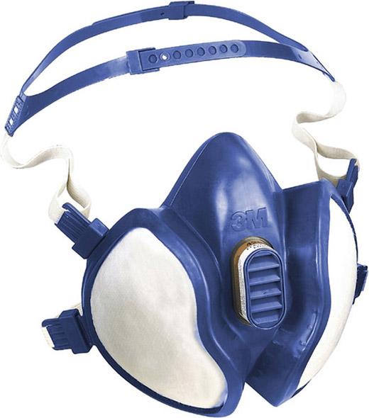 3M Maschera Antigas Mascherina Antipolvere Respiratoria Classe FFA1P2 6245530150