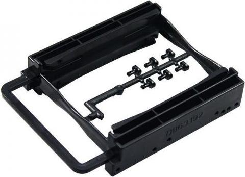 ADJ Supporto Adattatore Bracket 2 HDD SSD 2.5 in 1 Bay 3.5 120-00002 AH252