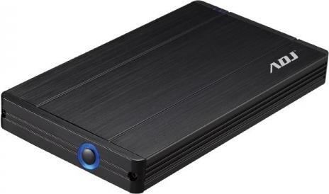 "ADJ Box Hard Disk Esterno 2.5"" Sata USB 3.0 HDD 12.5mm 120-00006 AH650"