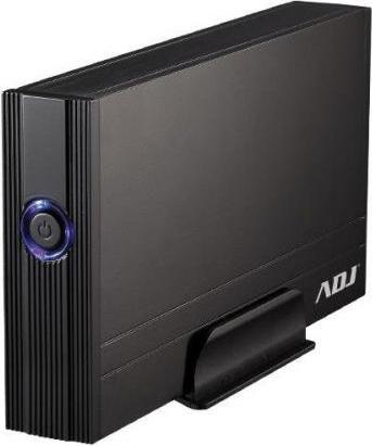 "ADJ Box Hard Disk Esterno 2.5"" Combo Sata USB 2.0 Office Series Nero AH630"