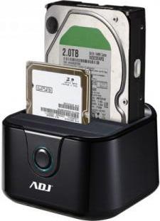 ADJ Docking Station Hard Disk SATA da 2.5 e 3.5 Double HDD USB 3.0 AH01T