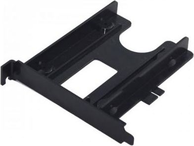 ADJ Supporto Adattatore Bracket HDD SSD 2.5 per pannello posteriore PC 12000017