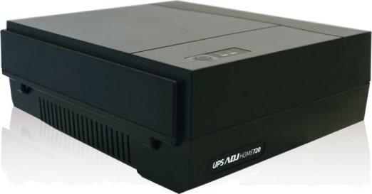 ADJ Gruppo continuità UPS 720 VA 240W autonomia 10min. 2 prese AC - 650-00722