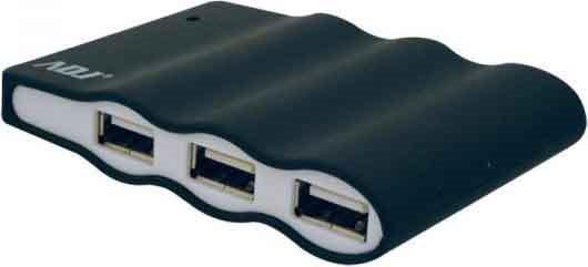ADJ Hub 4 Porte USB 2.0 colore Nero - ADJHBHMCK154AB