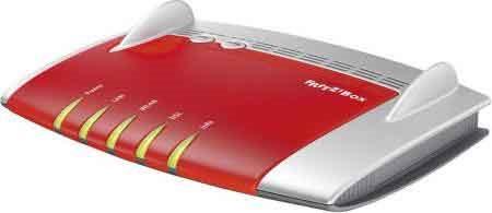 AVM Modem Router VDSL ADSLADSL2+ 10 100 1000Mbits WLAN: 450 20002709