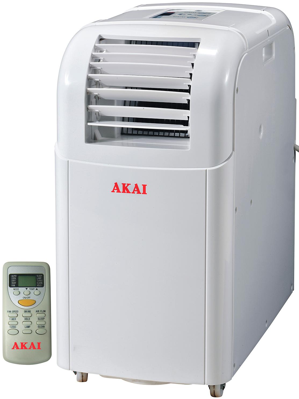 Akai condizionatore portatile 7000 btu h climatizzatore for Condizionatore portatile clatronic