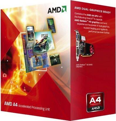 Amd Cpu ASeries APU 3.4 Ghz Socket FM2 65W 32nm Trinity Box A45300 FM2 BOX