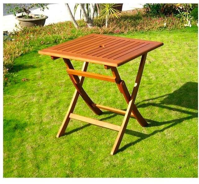 Tavoli Da Giardino Pieghevoli In Legno.Amicasa Tavolo Pieghevole Da Giardino Tavolino In Legno Dimensione