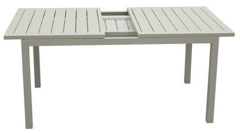 Tavoli Da Esterno Brico.Amicasa Tavolo Allungabile Da Giardino Alluminio 148 209x90 Cm