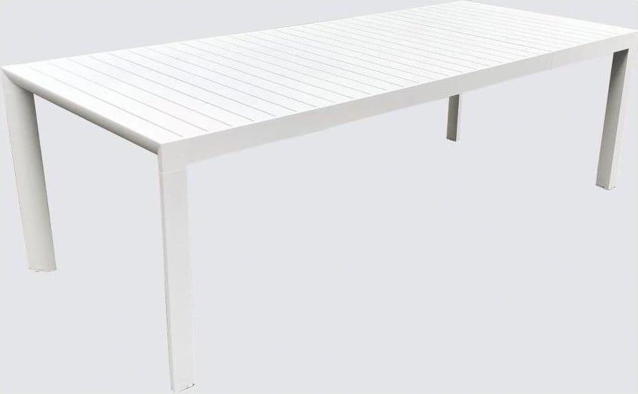 Tavoli Da Giardino In Alluminio Allungabili.Amicasa Tavolo Allungabile Da Giardino Alluminio 180 240x100 Cm