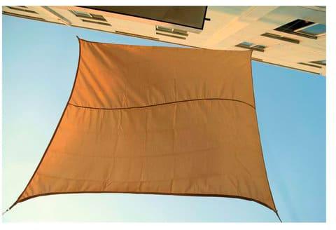 Tenda A Vela Quadrata : Tenda vela ombreggiante da sole telo parasole ombra giardino